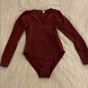 American Apparel Long Sleeve Bodysuit